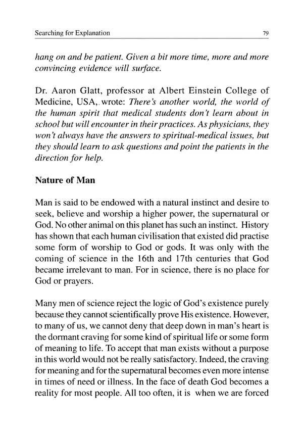 E) Faith & Prayer « CA Care